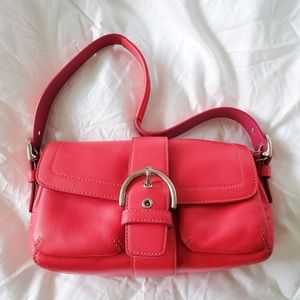 Authentic Pink COACH Soho Purse MO4S-1446